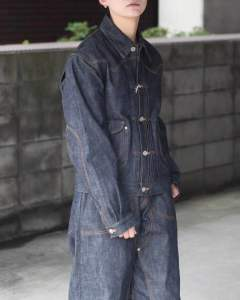 【残りわずか】Classic Selvedge Denim Jacket