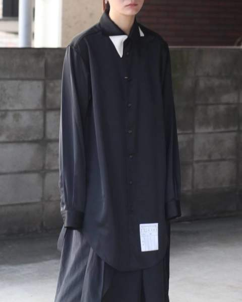 【残りわずか】Double Collar Long Shirts