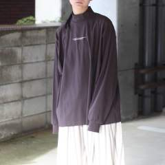 【残りわずか】Oversized High Neck LS